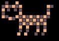 Mozaiková kočka